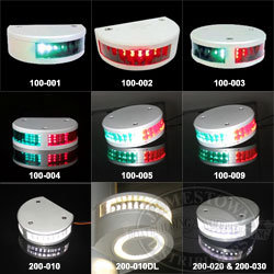 LopoLight LED Navigation Lights for boats up to 39.4 ft (12 m)