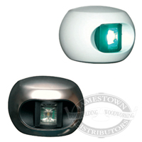 Aqua Signal Discovery Series 34 Navigation Light - White Housing & S/S Cover
