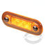 Hella Amber Oblong LED Courtesy Lamps