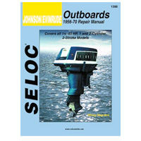 Johnson/Evinrude Outboard Engine Service and Repair Manuals by Seloc marine