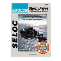 Mercruiser Stern Drive Engine Repair Manuals by Seloc Marine