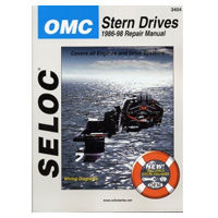 OMC Cobra and OMC Stern Drive Repair Manuals by Seloc Marine