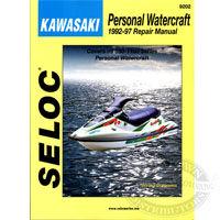 Kawasaki Jet Ski PWC Repair Manuals by Seloc Marine