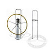 Edson Straight Pedestal Guard Kit