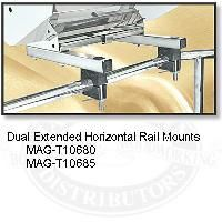 Magma Extended Dual Round Rail Mounts