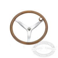 Edson Teak Rim Power Wheel