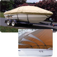 Taylor SST Self Supporting boat covers