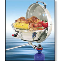 Magma Gas Grill/Stove Combination barbecue boat grill