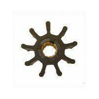 9 Blade Flexible Impellers from Jabsco for boat water pumps and bilge pumps