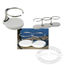 Edson Stainless Steel Drink Holders with Poly Base