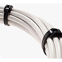 "16"" 120 lb. Low Profile Nylon Cable Ties"