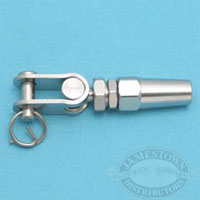 Suncor 316 SS Quick Attach Toggle Swage Fitting