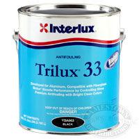 interlux trilux 33 bottom paint, aluminum antifouling paint