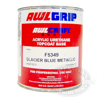 AwlCraft 2000 Metallic Topcoat Base Quart