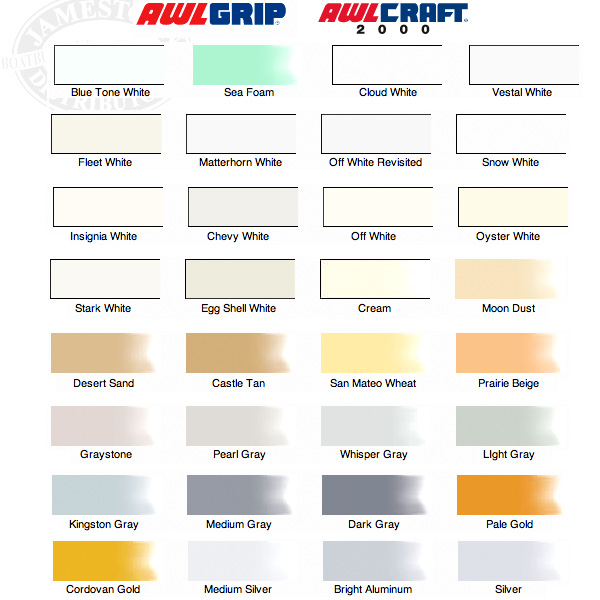 Awlgrip Paint Chart Juveique27