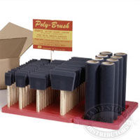 Poly-Brush and Roller Display