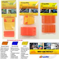 ScrapeRite Gen Purpose Plastic Razor Blades