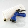 Whitecap Coiled Hose with Nozzle