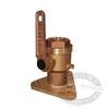 Groco BV Bronze Full-Flow Tri-Flange Base Seacocks