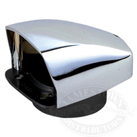 Perko Chrome Plated Zinc Cowl Ventilator