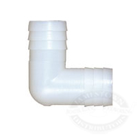 Midland Plastic Hose Barb Union Elbows