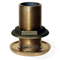Buck Algonquin Bronze Thru Hull Connector with Nut