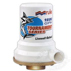 Rule Tournament Series Livewell / Baitwell Pumps