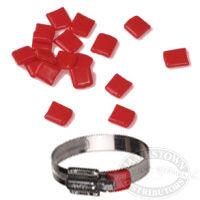 AWAB Red Vinyl Tail Tips