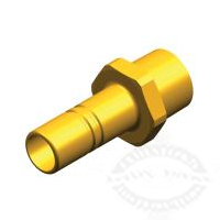 Whale 1/2in NPT Male Stem Adapter