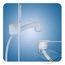 Scandvik Euro Handle Recessed Shower