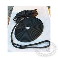 Samson Premium Black Double Braided Nylon Dock Line