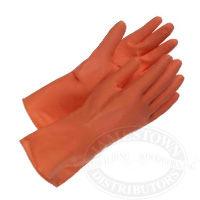 Boss Orange Flock Lined Latex Gloves