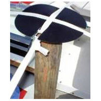 End Caps for Shrink Wrap Installation Support Poles