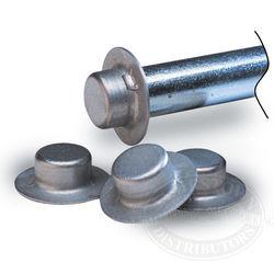 Trailer Roller Shaft Cap Nuts