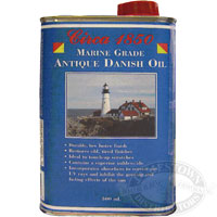 Circa 1850 Marine Grade Antique Danish Oil