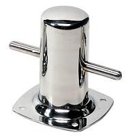 Vetus Bollards with Base Plate - 316 Stainless