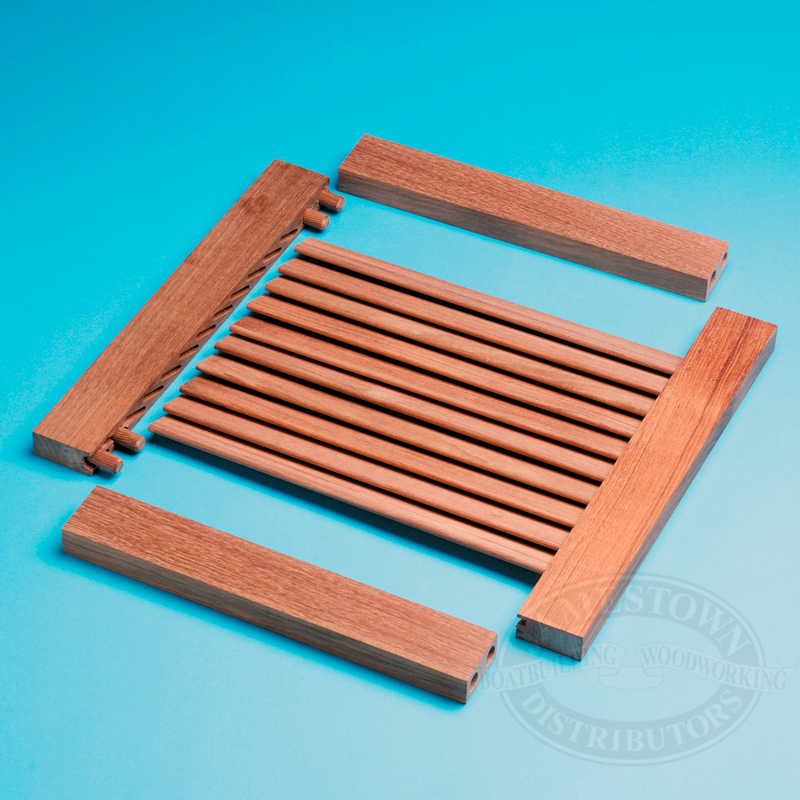 Whitecap Teak Louvered Door Components