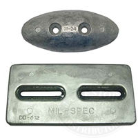 Camp Hull-Mount Zinc Plates