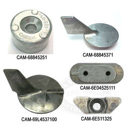 Camp Zinc Anodes for Yamaha Outboards