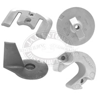 Mercury outboard engine zincs and Mercruiser stern drive zinc anodes